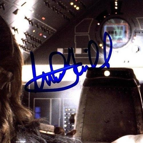 "MARK HAMILL & PETER MAYHEW Signed ""STAR WARS"" 8x10 Photo BECKETT BAS #A73072"