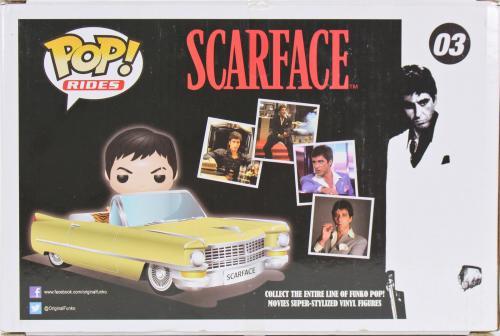 Al Pacino Vaulted Scarface Tony's Convertible #03 Funko Pop Vinyl Figure