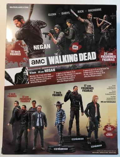 "JEFFREY DEAN MORGAN (Walking Dead) signed authentic ""Negan"" 10"" McFarlane figure"