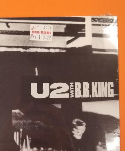 """MINT SEALED U2 """"When Love Comes To Town"""" US 12"""" EP B.B. King 1989 Island Records"""