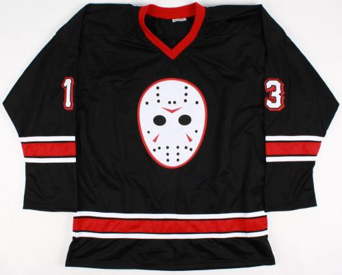 Ari Lehman Autographed Friday The 13th Jersey (jason Voorhees) W/ Proof!