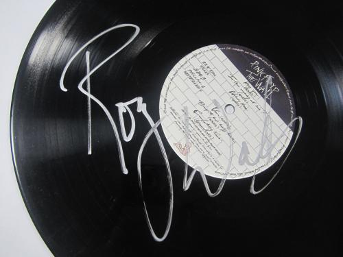Roger Waters Signed Pink Floyd The Wall Vinyl Album LP Autographed JSA COA NICE
