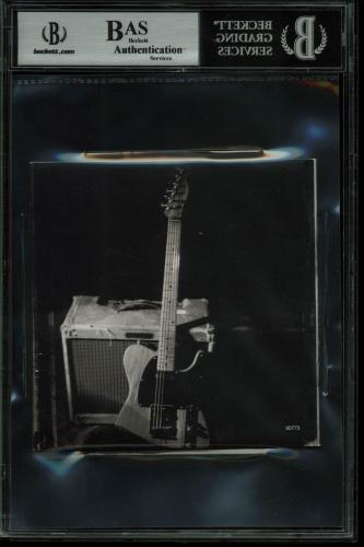 Bruce Springsteen Signed The Essential Bruce Springsteen Cd Cover BAS Slabbed