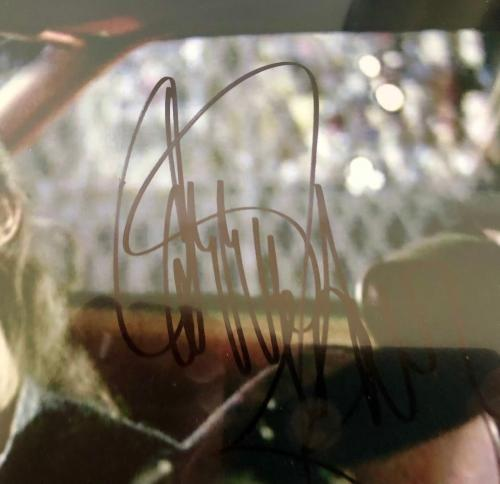 CARRIE FISHER signed (BLUE BROTHERS) 11x14 photo W/COA *MYSTERY WOMAN*