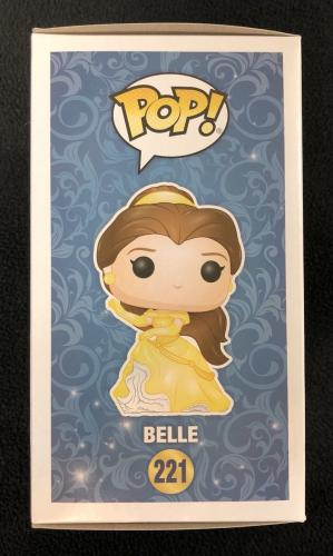 Paige O'Hara Signed & Inscribed Belle Beauty And The Beast Funko Pop Figure 221