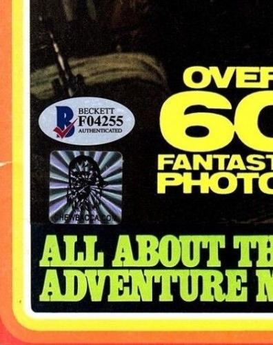 "PETER MAYHEW Signed Star Wars ""SW SPECTACULAR"" Magazine BECKETT BAS #F04255"