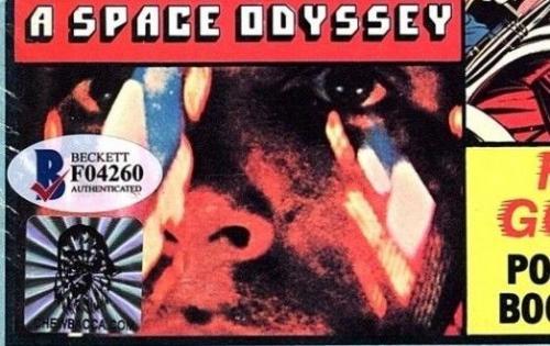 "PETER MAYHEW Signed Star Wars ""SPACE WARS"" Magazine BECKETT BAS #F04260"