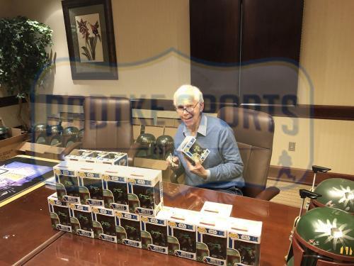 "Jeremy Bulloch Signed Funko Pop Star Wars Boba Fett #08 Vinyl Bobble-Head Figure (Green Ink) With ""Boba Fett"" Inscription"