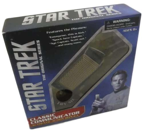 William Shatner Autographed/Signed Star Trek Communicator JSA 14695