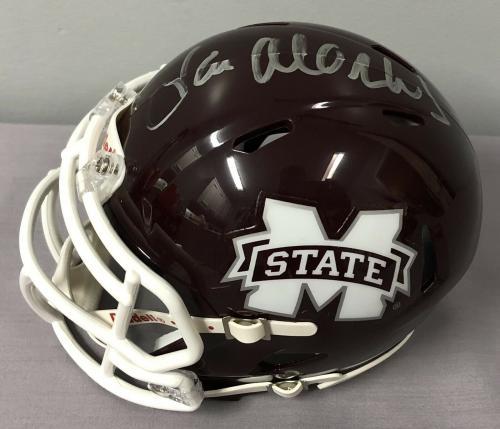 Coach Joe Moorhead SIGNED Mississippi State Bulldogs Mini Helmet w/ JSA COA
