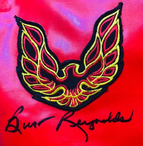 Burt Reynolds Signed Smokey and the Bandit Rep. Jacket - Beckett BAS Witnessed