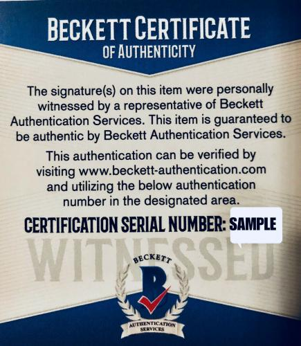Burt Reynolds Signed Smokey and the Bandit Die Cast Car 1:24 Scale - Beckett BAS