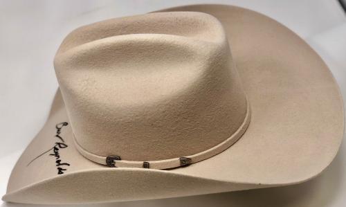 Burt Reynolds Signed Smokey and the Bandit Hat - PSA/DNA In the Prescene