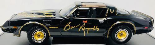 Burt Reynolds Signed Smokey and the Bandit Die Cast Car 1:18 Scale - Beckett BAS