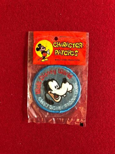 "1980's, Walt Disney, Disney World, ""Un-Opened"" Patch Set of (4) -  (Scarce)"