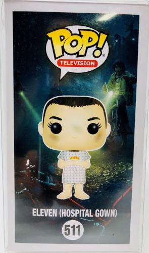 Millie Bobby Brown Autographed Eleven Funko Pop Stranger Things - Beckett BAS