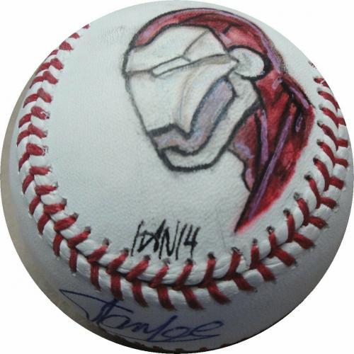 Stan Lee Signed Autographed MLB Baseball Marvel Creator Iron Man Stan Lee Holo