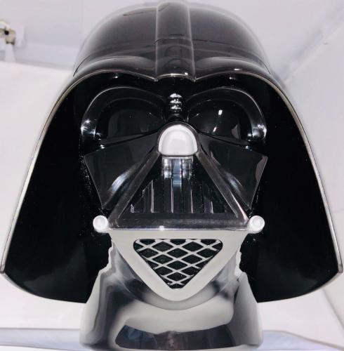Dave Prowse Signed Darth Vader Replica Star Wars Helmet Jar - Beckett BAS COA