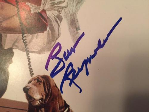 Burt Reynolds Signed Smokey And The Bandit Album Beckett COA! Rare!