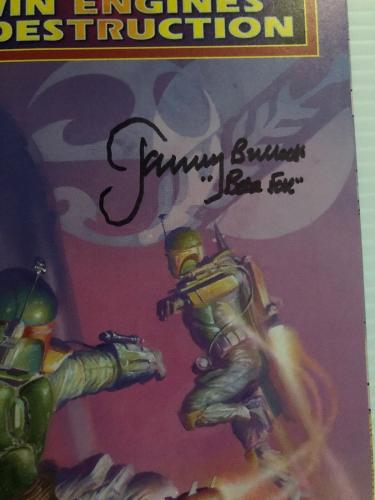 Jeremy Bulloch Signed Autographed Stars Wars Boba Fett Comic BECKETT COA 2