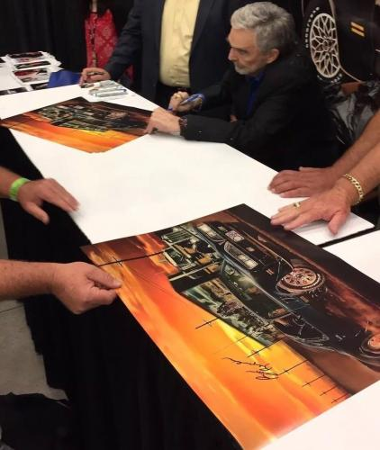 Burt Reynolds Signed Auto Poster Proof! Beckett COA!