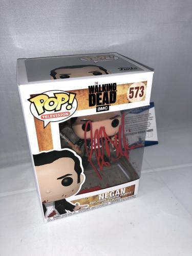 Jeffrey Dean Morgan Signed The Walking Dead Negan Funko Pop Bas Beckett 3
