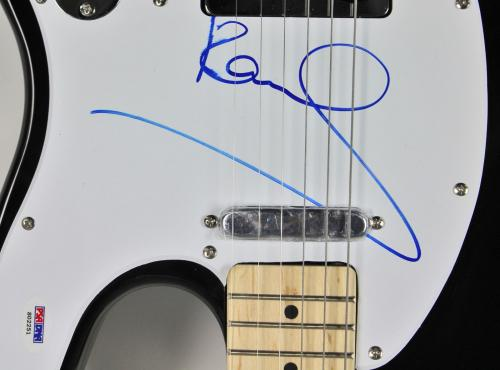 Paul McCartney The Beatles Signed Electric Guitar PSA/DNA #S02251