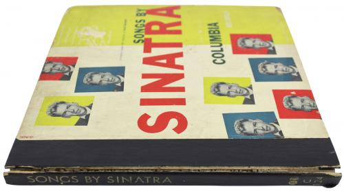Frank Sinatra Signed 1947 Songs By Sinatra Volume 1 Album Cover W/ Vinyl JSA