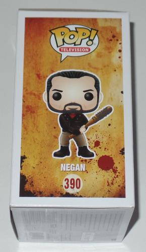Jeffrey Dean Morgan Signed Auto'd Funko Pop Bas Coa The Walking Dead Negan 390