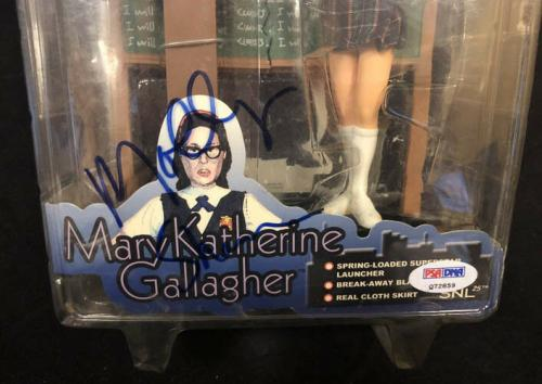 Molly Shannon SIGNED SNL Mary Katherine Gallagher Figure PSA/DNA AUTOGRAPHED