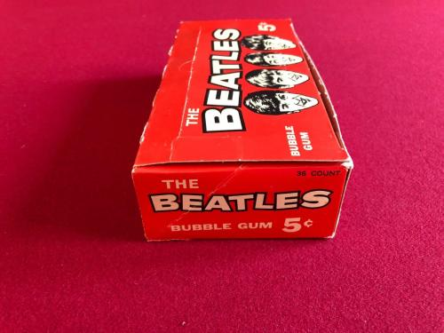 "1964, BEATLES, ""UN-OPENED"", ""O-PEE-CHEE"" (36-Ct) ""Yellow"" Wrapper Wax Box (RARE)"