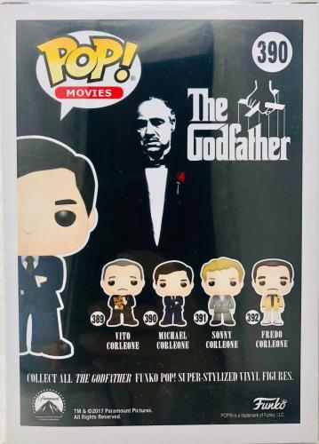 Al Pacino Signed Michael Corleone Funko Pop The Godfather - Beckett BAS Witness