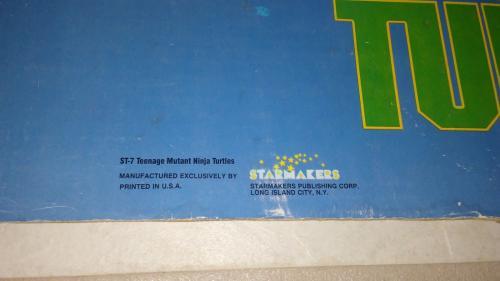 Teenage Mutant Ninja Turtles 1989 Starmakers Standee Display Official Rare L@@k