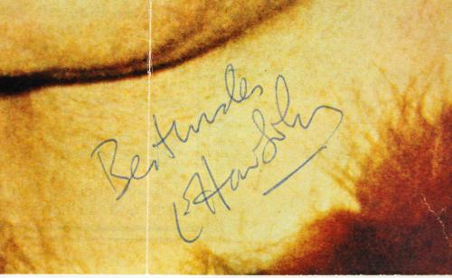 "Elton John ""Best Wishes"" Signed 8x11 Magazine Page JSA #Z73917"