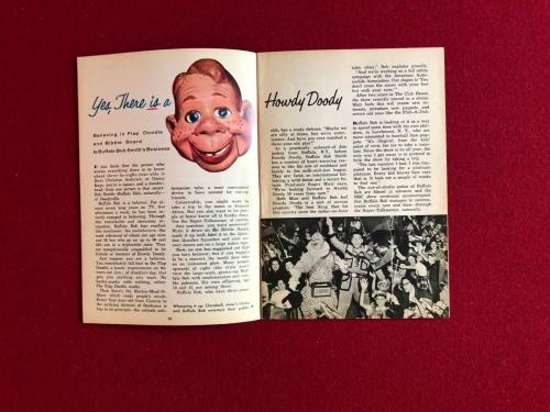 """1954, Howdy Doody, """"TV Guide"""" (No Label on Front) Scarce"""