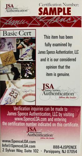 San Diego Padres Fernando Tatis Jr. Signed Baseball - Auto JSA James Spence COA