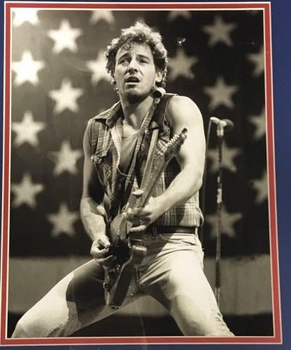 Bruce Springsteen The Boss 11x14 Born in the USA 1984 photo framed plaque
