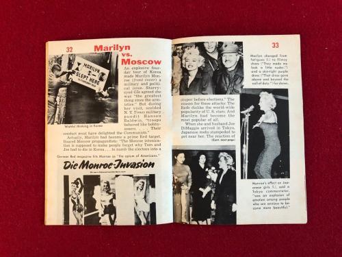 "1954, Marilyn Monroe, ""TEMPO"" Magazine, Vintage"