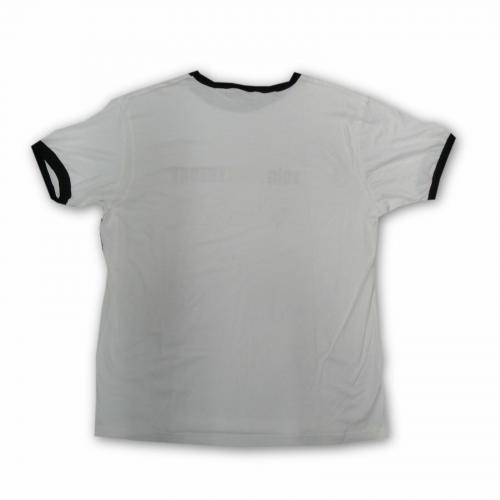 The Big Bang Theory Hand Signed Kaley Cuoco Jim Parsons Mondo T-Shirt JSA V40252