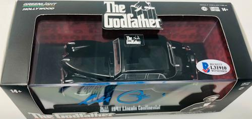 Al Pacino Signed The Godfather 1:43 Scale 1941 Lincoln Car - Beckett BAS Witness