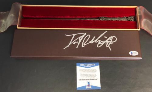 Daniel Radcliffe Harry Potter Signed Noble Collection Wand Authentic Beckett Bas