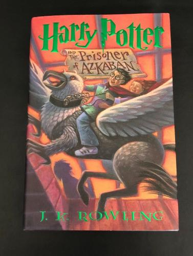 Daniel Radcliffe Signed Harry Potter And The Prisoner Of Azkaban Book Beckett