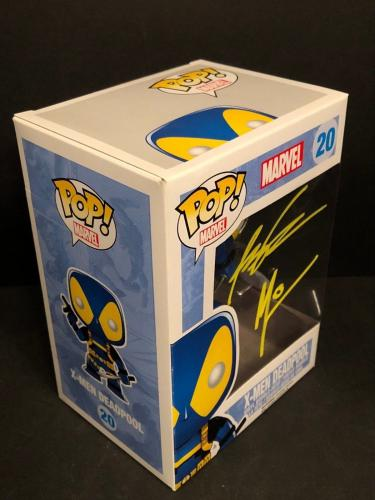 Rob Liefeld & Art Thibert Signed Marvel X-Men Deadpool Funko Pop #20 BAS J90835