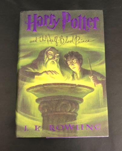 Daniel Radcliffe Signed Auto Harry Potter And The Half-blood Prince Book Beckett