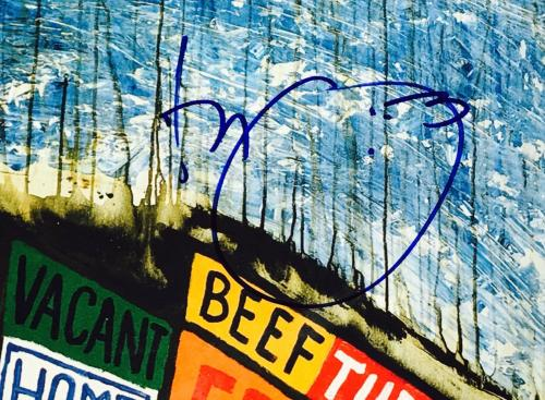 Radiohead signed album thom yorke group autographed hail to the thief lp beckett