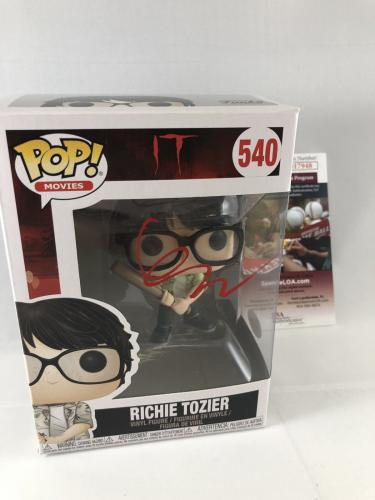 Finn Wolfhard Signed It Richie Tozier Funko Pop Jsa 2