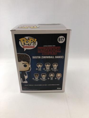 Gaten Matarazzo Signed Stranger Things Dustin Snowball Dance Funko Pop Jsa 4
