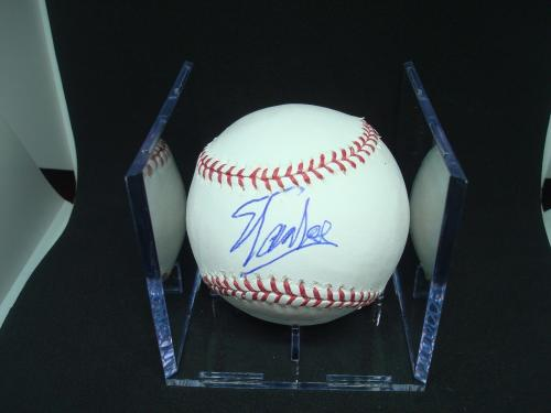 Stan Lee Signed OMLB Baseball Autographed Spider-Man Marvel PSA/DNA COA 1B