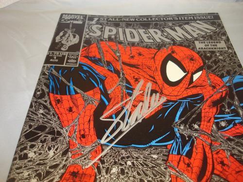 Stan Lee Signed Spider-Man Comic Book Torment Silver PSA/DNA COA Autographed 1B