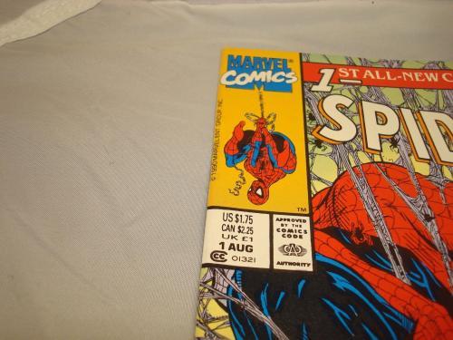 Stan Lee Signed Spider-Man Comic Book Torment Green PSA/DNA COA Autographed 1A